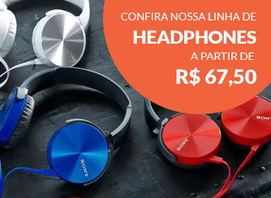Mini banner - headphones