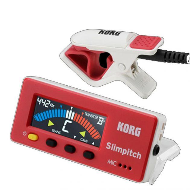 Afinador cromático Slimpitch SLM-1CM-RW - Korg