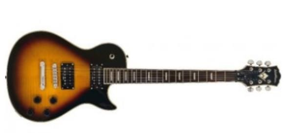 Guitarra Flame Vintage Sunburst - Windlxfvsb - Washburn