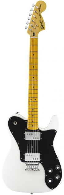Guitarra Tele Vint Mod Deluxe Olympic White Squier by Fender