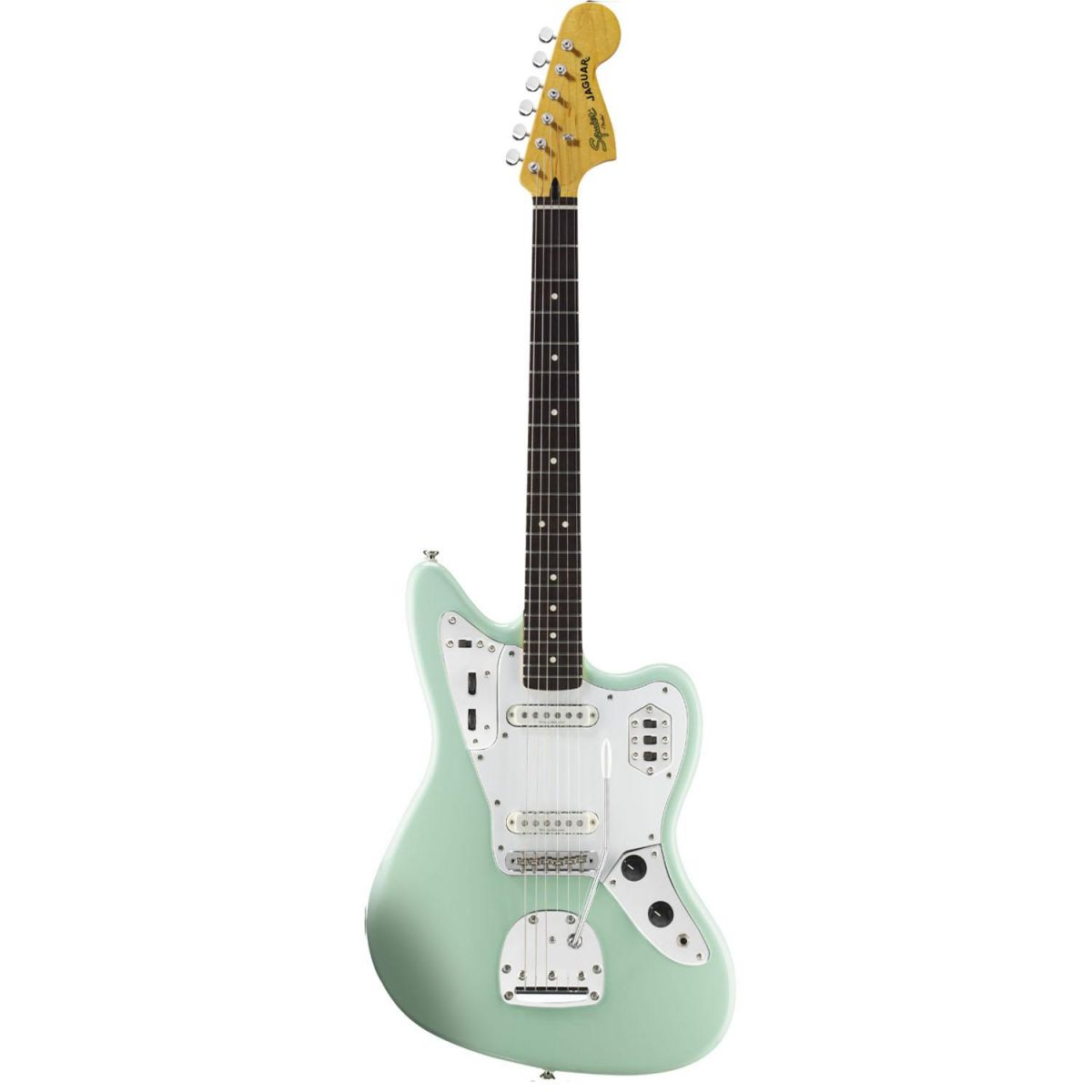Guitarra Jaguar Vintage Modified Surf Green - Squier By Fender