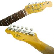 Guitarra Telecaster Roasted Fretboard Relic C. Built  805  Aged Olimpic White - Fender