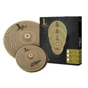 Kit de Pratos Low Volume LV38 - 13HH + 18 Crash Ride - Zildjian