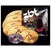 Kit de Pratos Zbt 390 Super Pack 14Hh+14+16+18Crash+20Ride+10Transformer - Zildjian