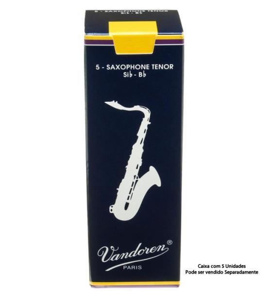 Palheta p/sax tenor 2,5 tradicional - Vandoren