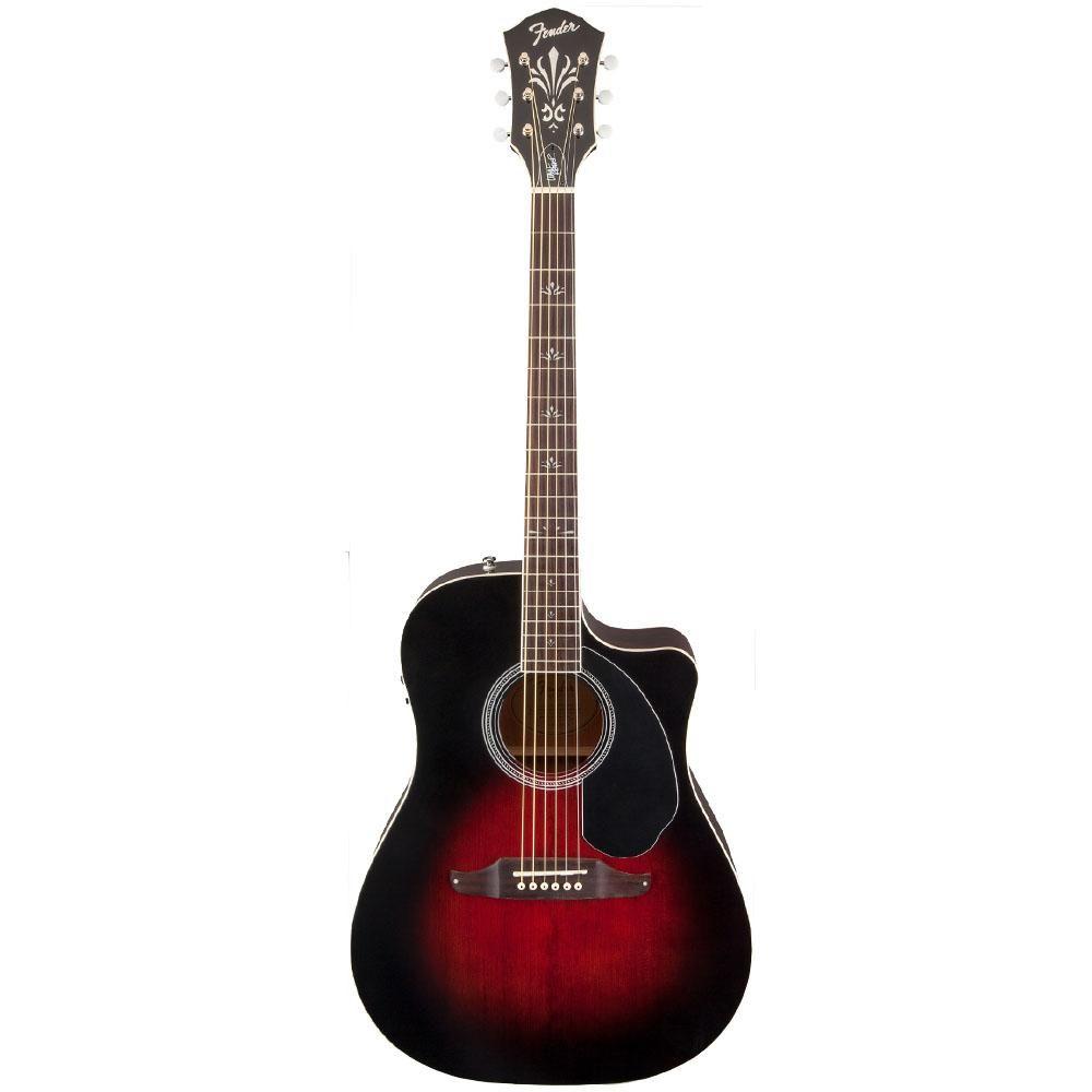 Violão Elétrico Wayne Kramer Royal Tone Dreadnought  Vintage Sunburst - Fender
