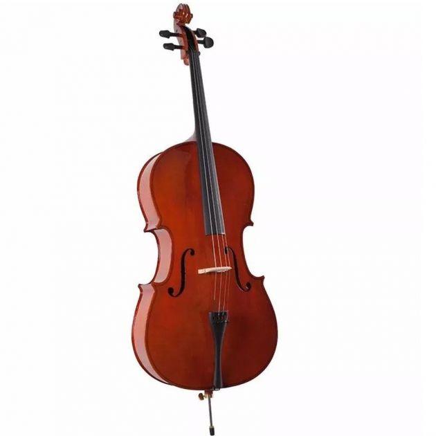 Violoncello 4/4 com Capa AL-1210 - Alan